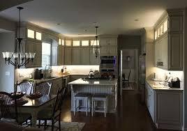 beautiful kitchen lighting design with flexfire
