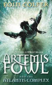 artemis fowl and the atlantis plex by eoin colfer cover