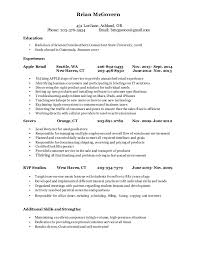 McGovern Resume post apple copy. Brian McGovern 431 Lori lane, Ashland, OR  Phone: 203-376-3934 ...