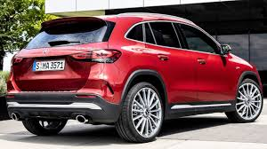 As if freshly liberated, it chases round the bends, sends the dust swirling and is always poised for that long journey. 2021 Mercedes Amg Gla 35 4matic Fast And Sporty Compact Suv Youtube