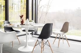 ... Eames Molded Plastic Dowel-Leg Side Chair (DSW)