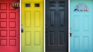 how to paint your front doorColor Doors  Yellow Entry Door Color Meaning