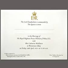 prince william and kate middleton royal wedding invitations Wedding Invitations M Blank queen elizabeth sent out 1,900 invitations to the wedding ceremony of her grandson prince william and Printable Wedding Invitation Templates