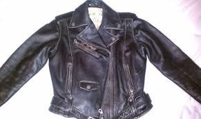 womens small jack daniels burn out distress leather er jacket imag00m65 jpg