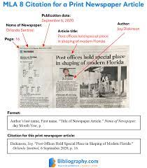 Tabloid article example (page 1). How To Cite A Newspaper Article In Mla With Examples Bibliography Com