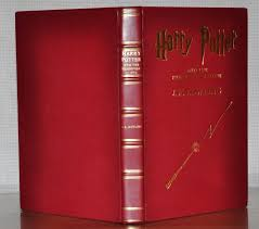 harry potter and the philosopher s stone 1st 1st bloomsbury printing rebound in red
