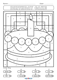 By best coloring pagesseptember 12th 2016. Free Color By Number Worksheets Cool2bkids