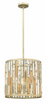 fredrick ramond fr33734slf gemma silver leaf drum pendant lighting fixture fr33734slf