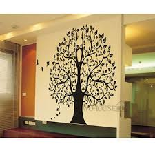 >wall stickers home decor vinyl art decals room mural big banyan tree  image is loading wall stickers home decor vinyl art decals room