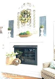 brick fireplace mantel decor faux fireplace ideas decorate fireplace mantel faux fireplace decor great best ideas