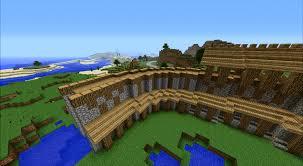 minecraft wall designs. Minecraft Circular Wall Designs