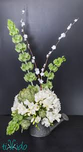 Paper Flower Branches Faux Spring Floral Branches Tutorial For An Easter Flower