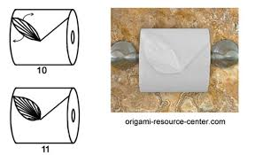 Toilet Paper Origami Flower Instructions Toilet Paper Origami Heart Instructions Fresh Origami Toilet Paper