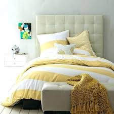 yellow white duvet cover yellow white striped duvet cover