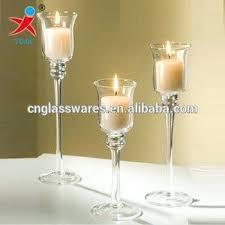 long stem tealight candle holders uk wedding decoration glass tulip