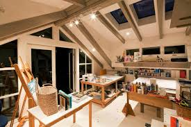 Workshop Inspired Home Art Studio. Design Ideas: ...