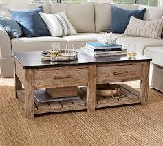 Image Barnwood Furniture Overstockcom Parker Reclaimed Wood Coffee Table Pottery Barn
