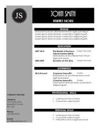 Pretty Resume Template Magnificent Creative Resume Templates
