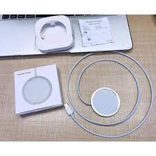 Đế sạc không dây MagSafe chính hãng Apple Sạc Nhanh Cho iPhone 11 và 12  Pro, Xs, Xsmax - Đế sạc không dây Thương hiệu No Brand