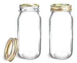 glass jars clear glass jars clear glass jars w gold two piece canning lids glass jars glass jars glass jar with olive wood lid