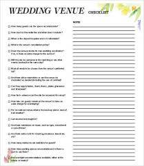 Venue Checklist Templates - 7+ Free Word, Pdf Documents Download ...