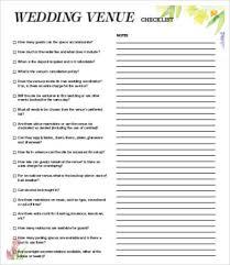 Venue Checklist Templates - 7+ Free Word, Pdf Documents Download ...
