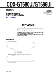 sony car audio service manuals page 31 Sony Cdx Gt640ui Wiring Diagram cdx gt680ui, cdx gt686ui service manual sony cdx gt630ui wiring diagram