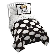 minnie mouse gold polka dot comforter set twin disney throughout remodel 14