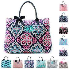 Monogrammed Quilted Bags, Duffles & Totes | GiftsHappenHere.com ... & Personalized Large Quilted Tote Bag 21