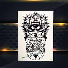 Waterproof Fake Flash Tattoo Henna Heart Cross Wifi Gem Diamond Kids Christmas Gifts Tattoo Stickers Phb646 Star Temporary Tatoo
