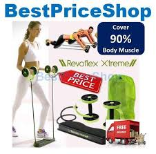 2018 revoflex xtreme workout abs wheel 40 exercises 90 body muscles