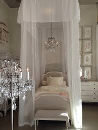 Shabby Chic French Bedroom Furniture Shabby Chic Little Princess Bedroom With A Luxuriously Canopied