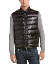 Moncler Moncler Down Quilted Vest | Bluefly.Com & Moncler Moncler Down Quilted Vest Adamdwight.com