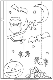 Small Picture 20 Fun Halloween Coloring Pages for Kids Hative
