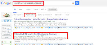 using advanced search in google to find free xbox livecodes