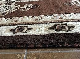 traditional long persian runner area rug brown design 121 americana 32 inch x 15 feet