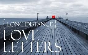 long distance love letters letters of
