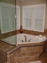 excellent corner bath shower combo 85 corner jetted tub simple design