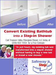 boise burley caldwell mccall eagle tub shower conversion treasure valley fiberglass repair llc