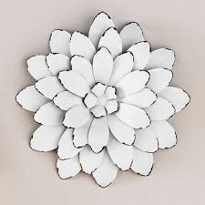 wall art design ideas white beautiful large metal flower wall art within newest huge metal on large floral metal wall art with view gallery of huge metal wall art showing 10 of 20 photos