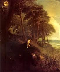 ode to a nightingale joseph severn s depiction of keats listening to the nightingale c 1845