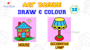 In This Program Learn Colouring Drawing For Kids Water Colour