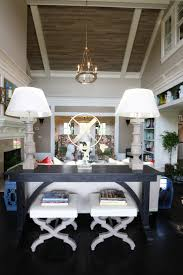 awesome scandinavian console how to decorate a sofa table with chairs behind a couch ideas