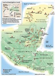 mayan civilization, ruins and culture Mayan Cities Map Mayan Cities Map #24 mayan city map
