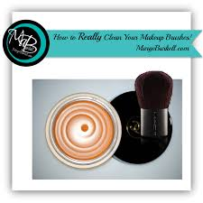 easy how to really clean your makeup brushes fast and
