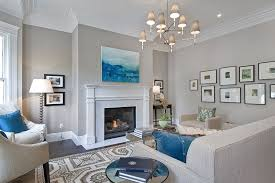 Benjamin Moore Revere Pewter Living Room