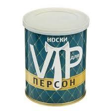 "Носки в банке ""<b>Носки для VIP</b> персон"" (мужские, цвет черный ..."