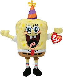 Amazon.co.jp: happi-basude- Spongebob Sponge Bob Ty Beanie Baby ...