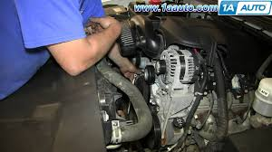 how to install replace serpentine belt tensioner 2007 13 chevy how to install replace serpentine belt tensioner 2007 13 chevy silverado gmc sierra
