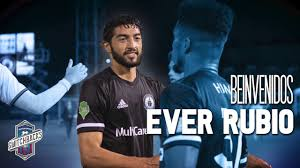 Colorado Springs Switchbacks FC Sign Everardo Rubio